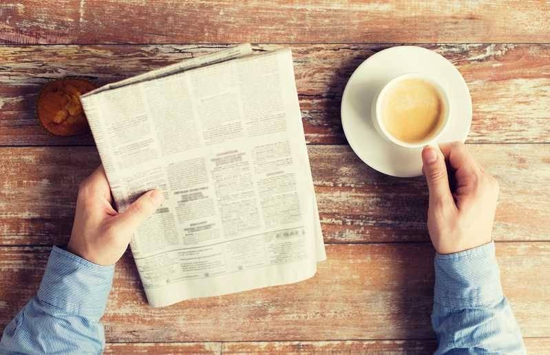 新聞折込チラシのイメージ