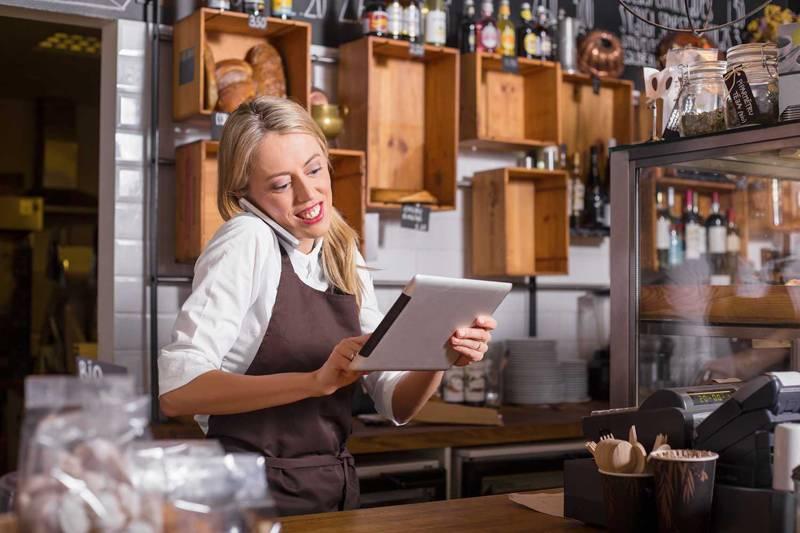 飲食店電話対応のイメージ