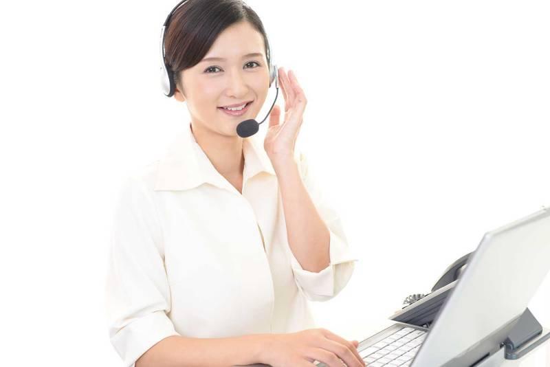 電話オペレーターのイメージ