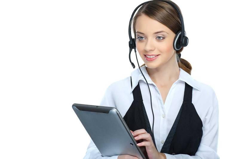 電話対応はプロのイメージ