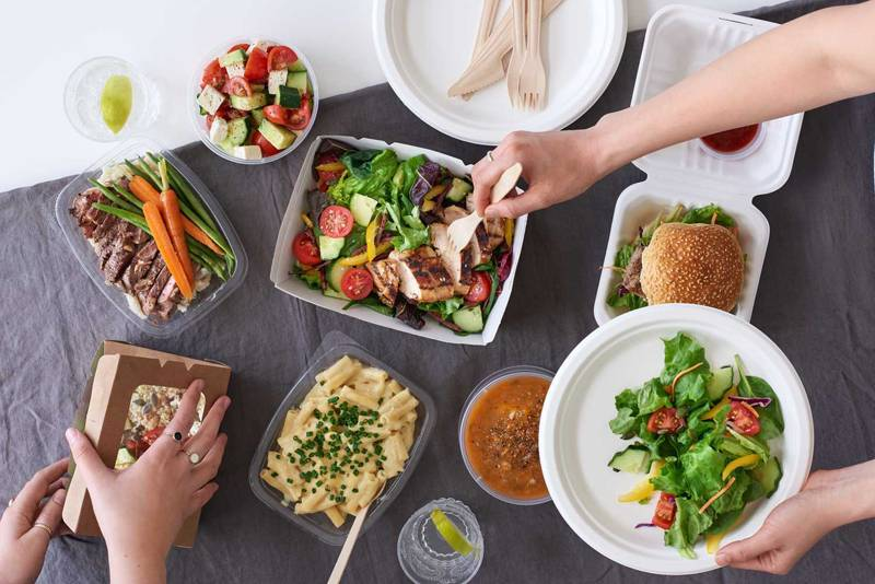 産直食材の料理イメージ