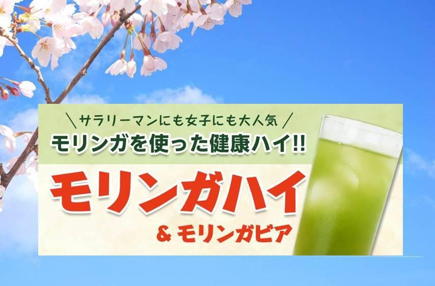 スーパーフード・モリンガ使用の『モリンガハイ』導入1年で100店舗達成